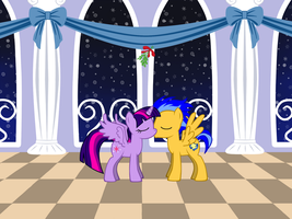 Mistletoe Kiss: FlashLight Version by RogueHeart101