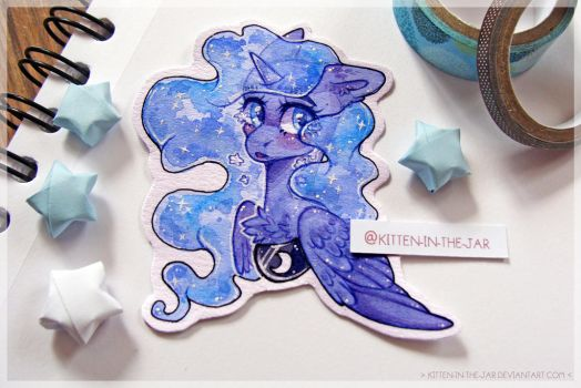 Starry tears by Kitten-in-the-jar