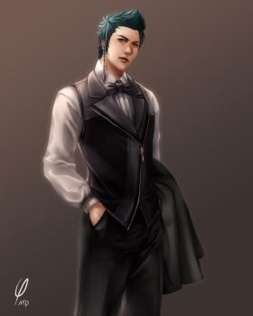 Banquet Tuxedo by Phi-MD