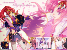 Lacus and Kira by rulerofevil