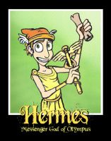 Hermes Poster by ZacharyParker