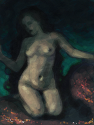 nude under water by mollygrue