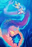 Underwater Fusion Painting for tarje by Witchin