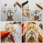 Coloring Mami Part 2 .:Comm:. by colorfulkitten