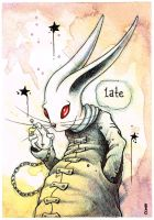 Late Rabbit by bryancollins