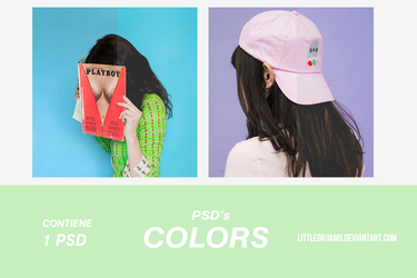 PSD 008 - COLORS by LittleDr3ams