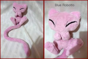Giggling Mew by BlueRobotto