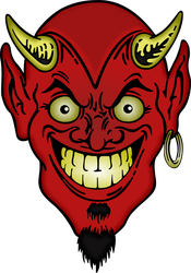 Devil's Face by CryptoWorks