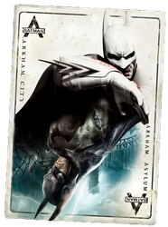 Batman Return to Arkham - Card by barrymk100