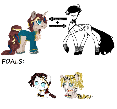 CC Foals for BloodRain83 - CLOSED by SavannaEGoth