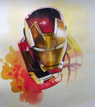 Iron-Man Sketch by RodGallery