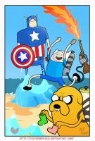 week 142 it's Adventure time!!! by StevenHoward