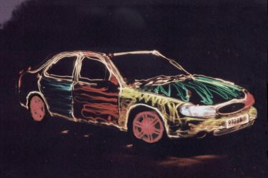 Painting With Light - Car by mnthomas