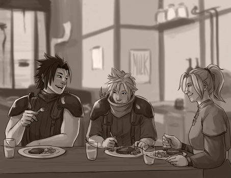Dinner at Cloud's by yinza