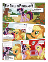 Funtime in Ponyland 5 (Page 1) by LimeyLassen