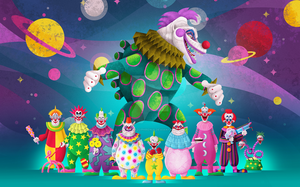 Killer Klowns from Outer Space by Light-Schizophrenia