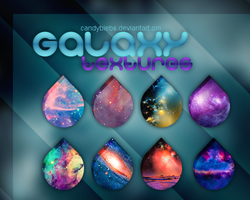 Galaxy T e x t u r e s. by CandyBiebs
