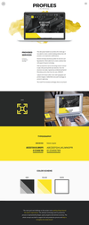 Web design projetc - Profiles by jurajmolnar