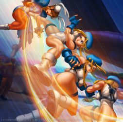 Cammy Cannon Spike for Street Fighter CCG by SoyUnGnomo