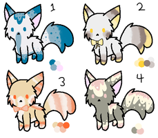 Sweet Kitty Adoptables Batch [10 POINTS] [CLOSED] by caii-adopts