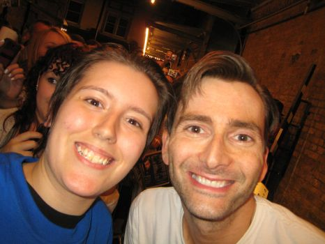 David Tennant and myself. by BartyJnr