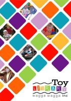 Toy Libary Brochure Cover by nickenglishdesign