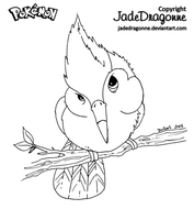 Birdy Boy- Pikipek version by JadeDragonne