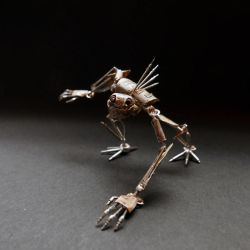 Articulated Watch Parts Creature 'Gadget' (III) by AMechanicalMind