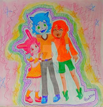 Siblings of te amazing World of Gumball by GabyCoutino