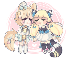 [CONTEST] Chiho and Yui by avenxizz