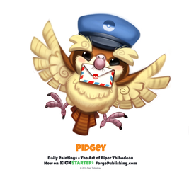 Pokemon - Pidgey by Cryptid-Creations