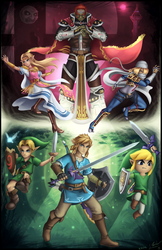 The Legend of Zelda - Super Smash Bros. Ultimate by ShupaMikey