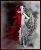 Demon Angel for DDU by DestinysGarden