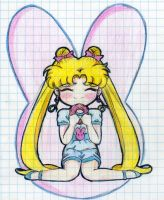 Usagi wants a cake XD by Loulines