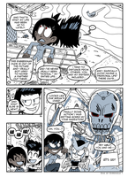 COMIX RubberMan Page 10 by theEyZmaster
