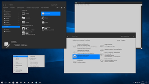 Gray10-mixed  for Windows 10 Creators Update by gsw953onDA