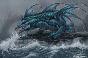 Sea Dragon by jaxxblackfox