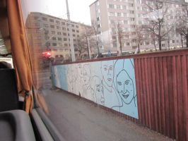 Outdoor Face Art.by Lime-sun by Lime-Sun