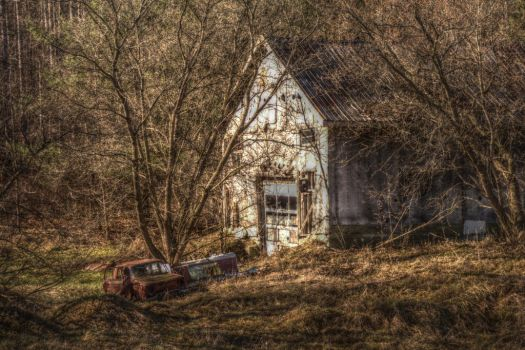 Derelict Passions II by ImagesByAndrew