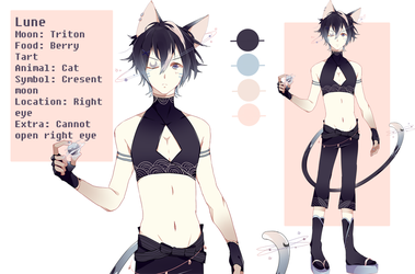 Lune ref sheet by shiohh