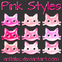 Pink styles by AnitaLec