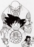 Dragon ball by nic011
