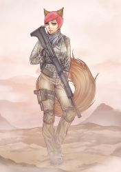 Comm: Red Military by Hyuei