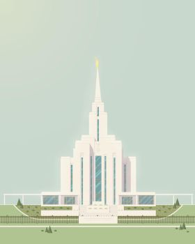 Oquirrh Mountain LDS Temple by waymanate