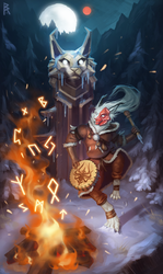 Commission: shaman by Brevis--art