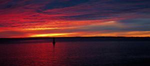 One more colorful seascape by KariLiimatainen