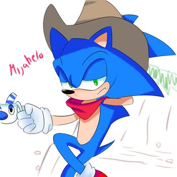 sheriff sonic by M1j4h3l0