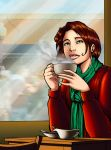 Cup of coffee. by k1lleet