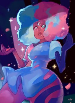 Cotton Candy Garnet by asieybarbie
