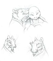 Tickley Ratty Kisses by we-were-in-love
